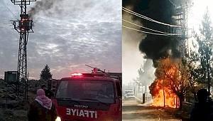 Şanlıurfa'da Elektrik Panoları Yandı