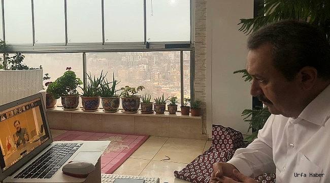 Başkan Kaya Hisarcıklıoğlu ile Urfayı konuştu