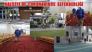 Haliliye'de 'Coronavirüs' seferberliği sürüyor