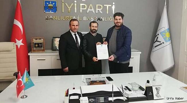 İYİ Parti Hilvan Gençlik Kolları Başkanı Atandı
