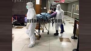 Urfa'da Şüpheli hasta sevk edildi