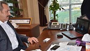Başkan Kaya Urfa'nın Sıkıntılarını Anlattı