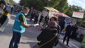 Eyyübiye'den ücretsiz maske dağıtımı