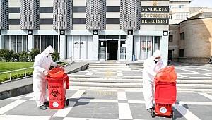 Haliliye Belediyesi Tıbbi Atık Kutuları Dağıtılıyor