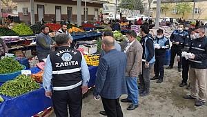 Haliliye'de Semt Pazarları Salgına Karşı Kontrol Altında