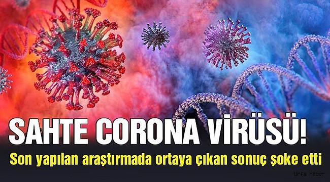 Şimdide Sahte Korona Virüsü Çıktı
