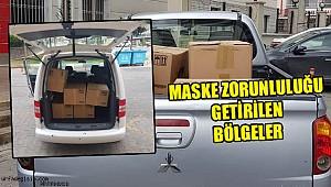 Tüm ilçelere 130 bin maske gönderildi