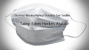 Ücretsiz Maske Üstelik Ücretsiz Eve Teslim