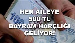 Bakan'dan açıklama: Vatandaşa 400 TL, çocuklara 100 TL Bayram harçlığı müjdesi!