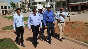 Başkan Kuş Eyyübiye'de park atağına geçti