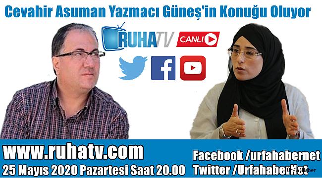 Cevahir Asuman Yazmacı Ruha TV'de Canlı Yayında..