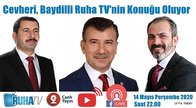 Cevheri, Baydilli Ruha TV'nin Konuğu Oluyor