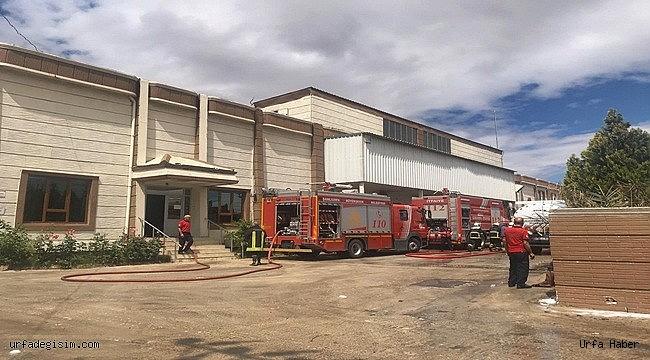 İplik fabrikasındaki yangın