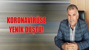 AK Partili başkan hayatını kaybetti!
