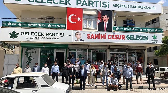 Gelecek Partisi Akçakale İlçe Başkanı Mustafa Çiftçi Oldu