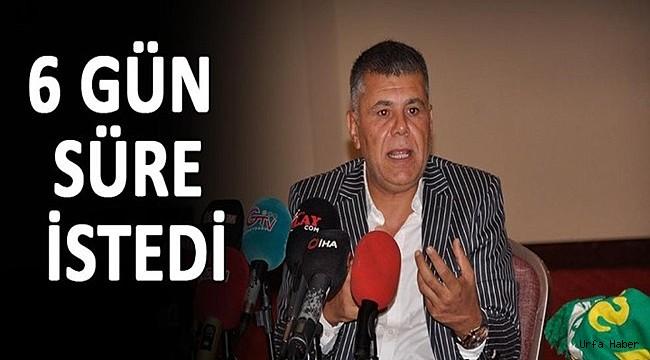 Şahin: Urfaspor'u ayağa kaldırmak için geliyorum