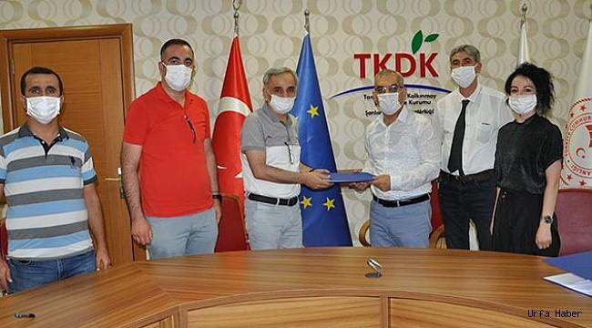 TKDK'dan Halfeti'ye tarihi destek