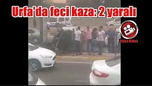 Urfa'da feci kaza: 2 yaralı