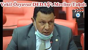 Vekil Özyavuz DEDAŞ'ı Meclise Taşıdı