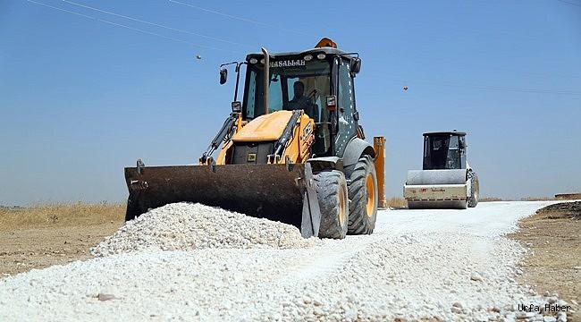 Haliliye'den kırsalda yol yapımına ağırlık