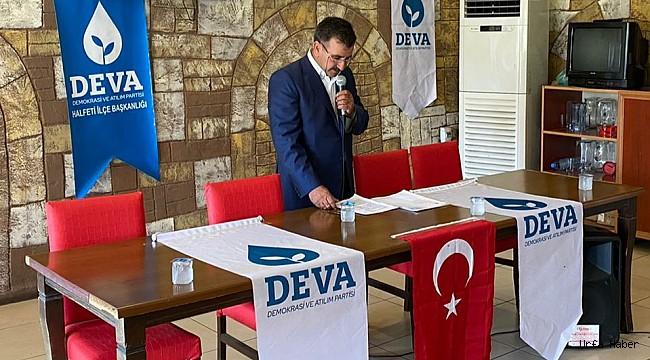 DEVA Partisi Halfeti İlçe Başkanı belli oldu
