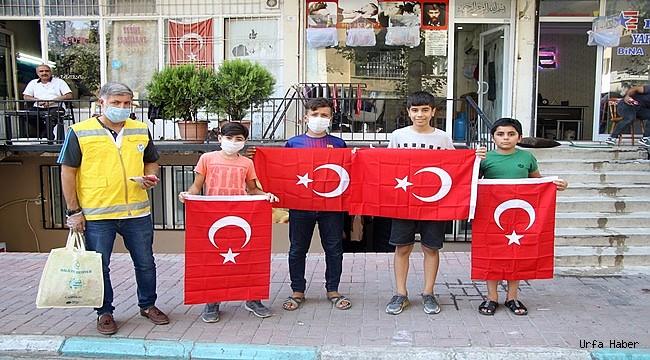 Haliliye Belediyesi halkla birlikte Gaziler gününü kutluyor