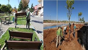 Haliliye'de yeni parklar yeşil ile buluşuyor
