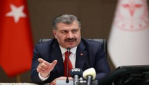 Sağlık Bakanı Fahrettin Koca'dan DSÖ'ye 'aşı' mesajı