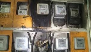 Urfa'da elektrik panosu patladı