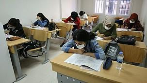 Haliliye öğrencilerin seviyesini test etti