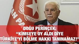 Perinçek HDP'ye sahip çıkan Kılıçdaroğlu'nu eleştirdi