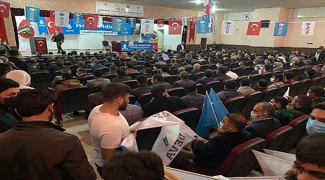 DEVA Partisi'nde Ceylanpınar  Kongresi Heyecanı