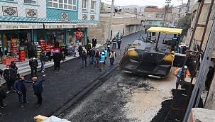 Eyyübiye Belediyesi Asfalt Serimine Durmadan Devam ediyor
