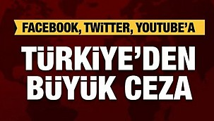 Facebook, Twitter, Youtube'a ceza