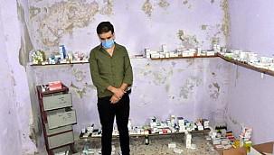 Kaçak çalışan Suriyeli 7 doktor 5 milyon liralık ilaçla yakalandı