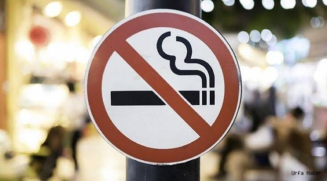 Urfa'da sigara içme yasakları başladı