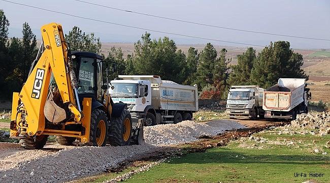 Haliliye Belediyesi, Kırsalda Yeni Yolları Hizmete Sunuyor