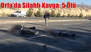 Şanlıurfa'da Silahlı Kavga: 5 ölü
