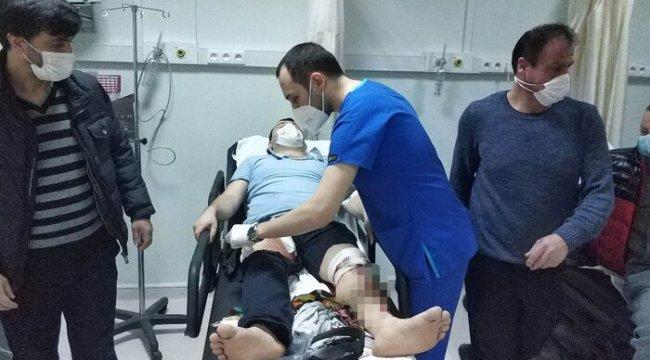 2 aylık bebeğin ağlama sesinden rahatsız olan komşuların kavgasında 5 kişi hastanelik oldu