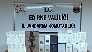 5 bin 800 TL'lik kaçak parfüm ele geçirildi