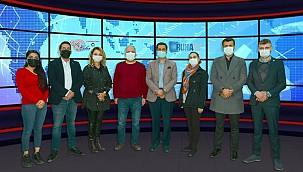 DEVA Partisi'nden Urfa Haber'e 10 Ocak Ziyareti