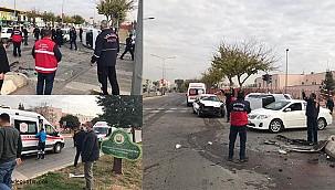 Urfa'da Trafik kazası 3 yaralı