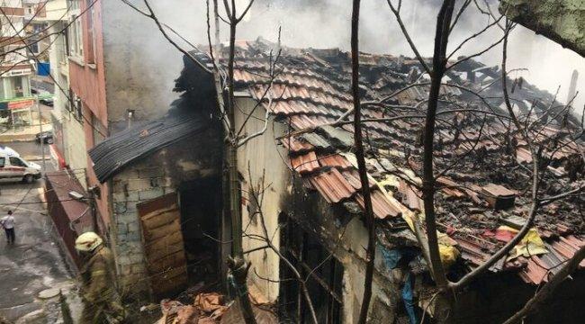 Yangın çıkaran madde bağımlıları mahalleliyi ayağa kaldırdı