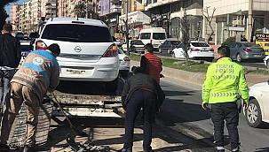 Haliliye'de trafik kazası: 2 yaralı