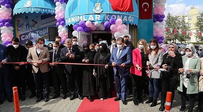 Haliliye Belediyesinden Kadınlar Gününde, Hanımlar Konağı Açılışı