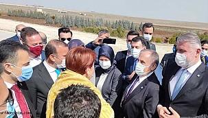 Meral Akşener Şanlıurfa'ya geldi