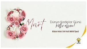 Polat'tan 8 Mart Mesajı