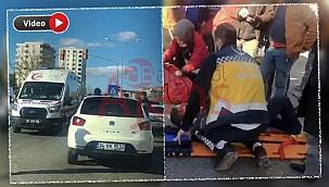 Şanlıurfa'da otomobilin çarptığı yaya ağır yaralandı.
