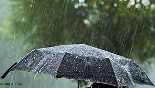 Şanlıurfa yağış etkisi altına giriyor