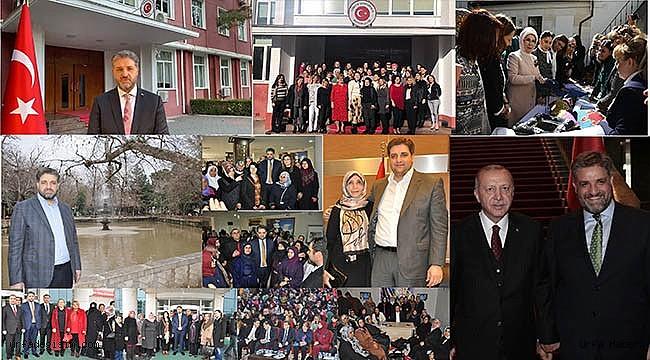 Urfalı Büyükelçi Önen'den Dünya Kadınlar Günü mesajı;